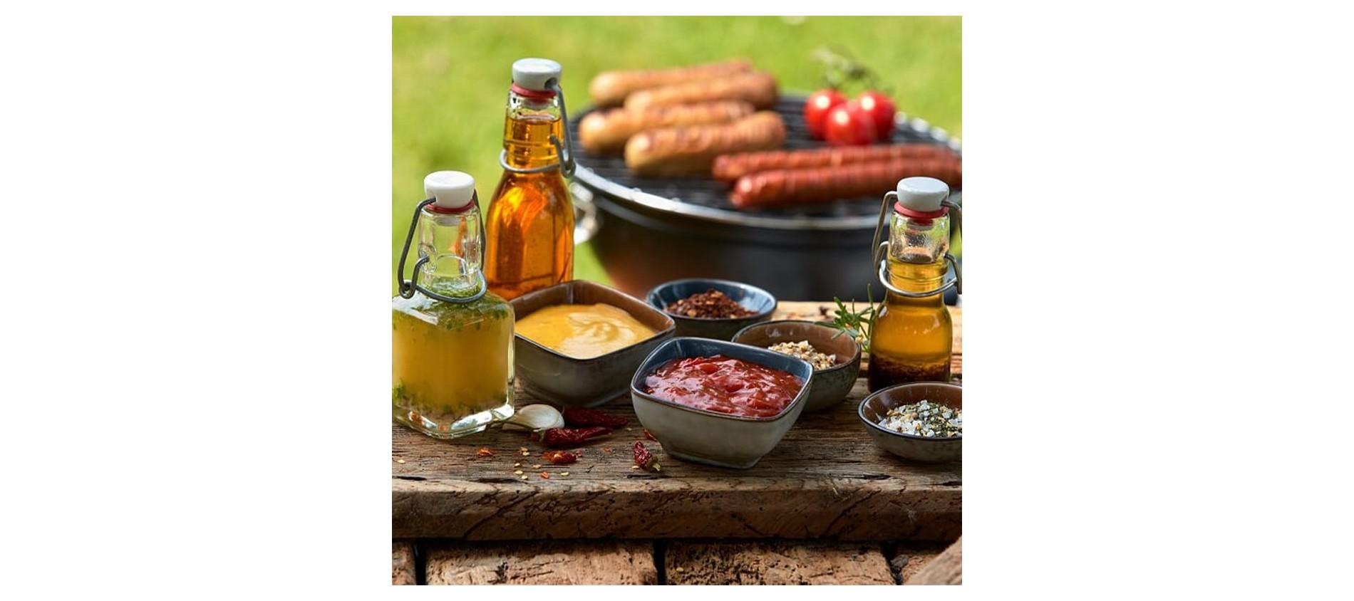 Condiments (Huiles, vinaigres, sauces, épices)
